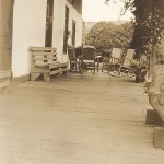 Fletcher House Porch - Postcard